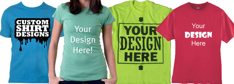 Create customized t shirts for your next event the for Printed custom t shirts
